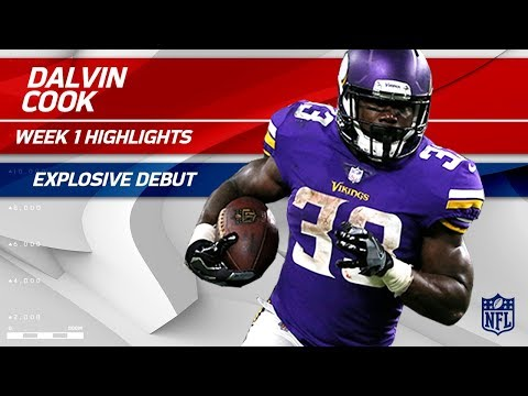 Every Dalvin Cook Play Against New Orleans | Saints vs. Vikings | NFL Wk 1 Player Highlights