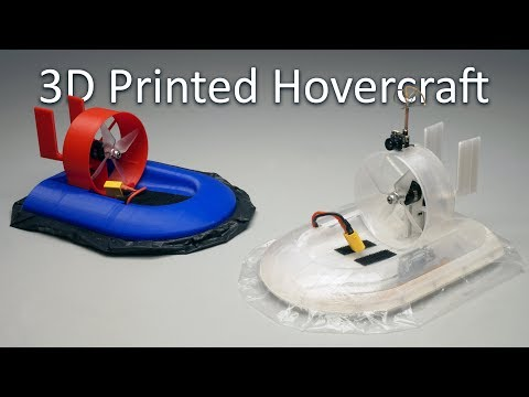 RC Hovercraft Development