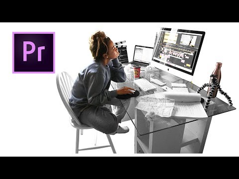 Editing a Short Film With ADOBE PREMIERE PRO! (Workflow Time-Lapse)