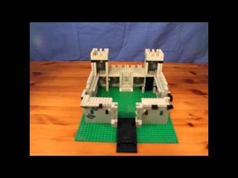 Lego King's Castle 6080 stop motion build.wmv