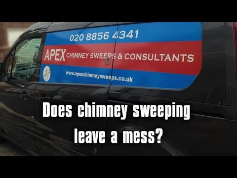 Does Chimney Sweeping Leave A Mess?