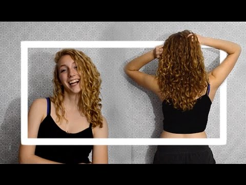 How I Style Curly Hair + 1 MONTH PERM UPDATE
