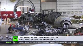 Still no answers: Dutch MPs slam team investigating MH17 for lack of trasparency