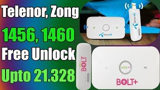 How to unlock E8372H zong telenor 4g device in one click