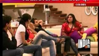 Dolly Bindra's Aggressive Behavior In  Bigg Boss