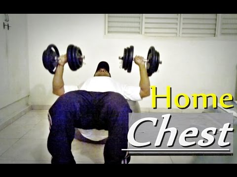 HOW TO Make THE BEST BENCH PRESS Exercise (at home)
