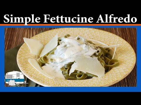 You asked for it: Fettuccine Alfredo