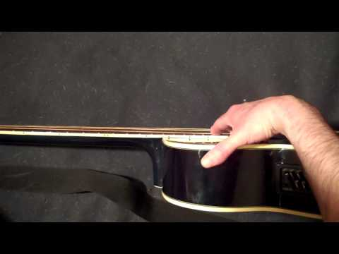How to Adjust the Neck Truss Rod on Your Acoustic Bass Guitar !