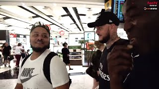 Can Robbie Survive 13 Hour Flight With DT & Troopz?    AFTV in Singapore 2018 Vlog Day 1
