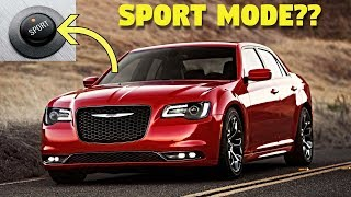 Sport Mode Explained On The Chrysler 300s - What Does It Do??