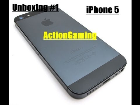 Unboxing: iPhone 5 + Cover! -ActionGaming