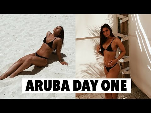 TRAVEL WITH ME! ARRIVING IN ARUBA + DAY ONE