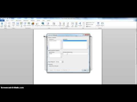 Macrons in Microsoft Word