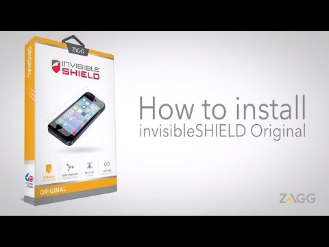 InvisibleShield Original - Phone Installation Walkthrough
