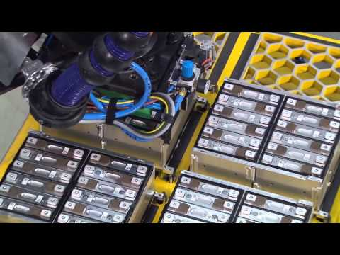 BMW i3 Battery Production