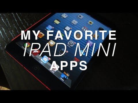 My Favorite iPad Mini Apps