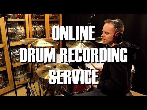 Online Drum Recording Service by Kai Jokiaho
