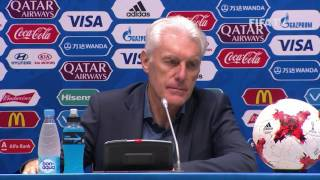 GER v CMR - Hugo Broos - Cameroon Post-Match Press Conference