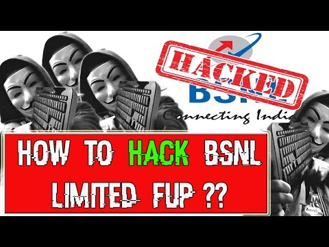 How to Bypass BSNL FUP Limited Plan 2017 | BSNL Bypassing | Unlimited access | Vsoft4u ✔️