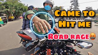HE CAME TO HIT ME   WORST FIGHT EVER HAPPENED   ROAD RAGE   ANGRY BIKER