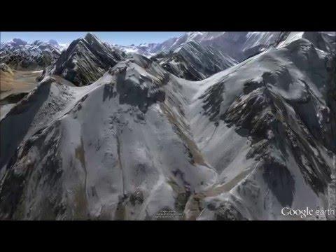 Magnificent Karakoram Mountains - Fly-Through Tour in Google Earth