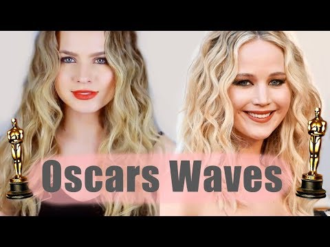 How to Recreate Jennifer Lawrence's Oscars Waves - KayleyMelissa