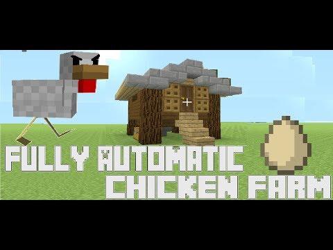 Minecraft Easy Chicken Coop Tutorial