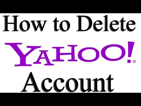 How to Delete Yahoo Account Permanently | How to Deactivate Yahoo Account