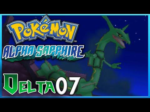 Pokemon Alpha Sapphire Delta Episode 7 MEGA RAYQUAZA ORAS Gameplay Walkthrough