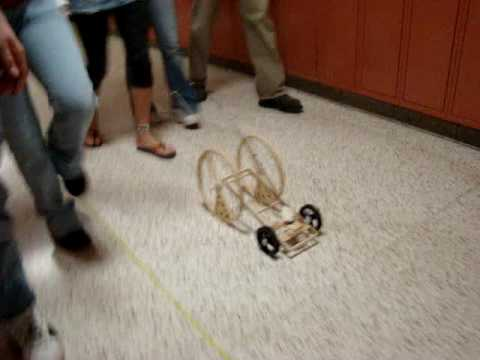 Mouse Trap Car- 112 Ft.