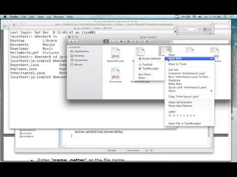Java for Android Development (Level: Beginning) 12/8/12