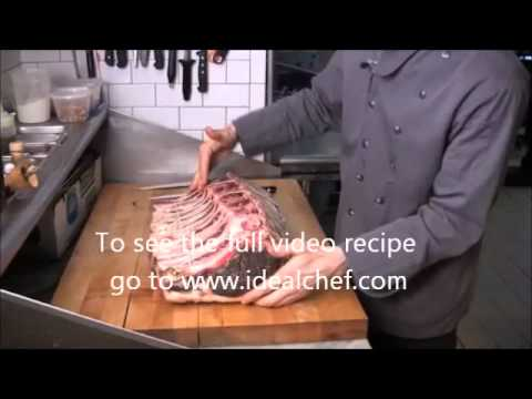 How to French and Clean an Aged 109 Rib by idealchef.com