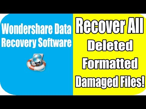 How To Recover All Deleted, Formatted, Damaged Files/Data | Bangla Tutorial