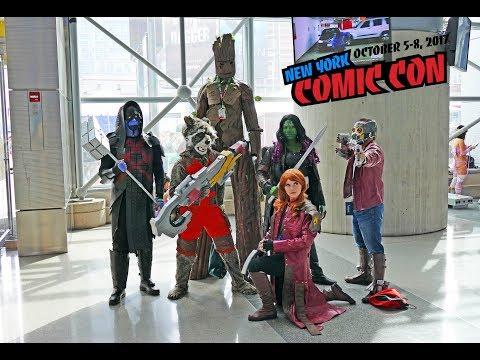 New York Comic Con 2017, cosplay and comics at NYCC