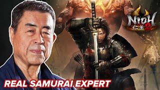 Real Samurai Expert Reviews Combat In Nioh 2 • Professionals Play