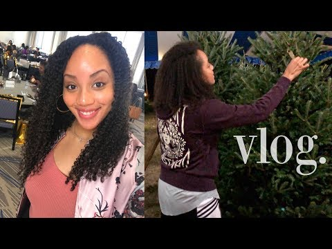VLOG   PICKING OUR CHRISTMAS TREE & FEARLESS CONFERENCE!