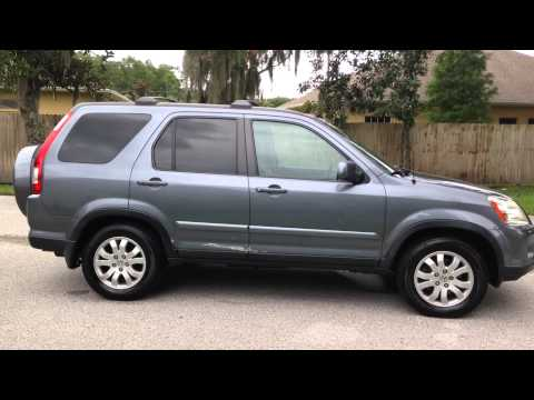 2005 Honda CRV EX 4WD