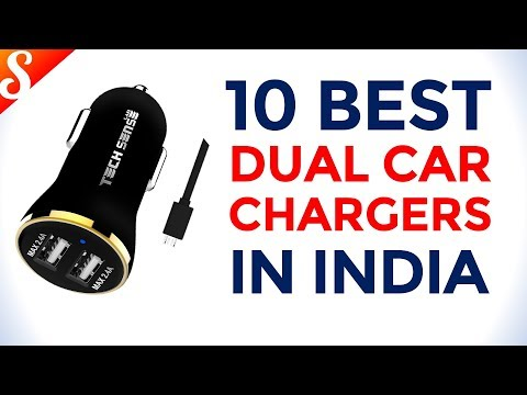 10 Best Dual Car Chargers in India with Price