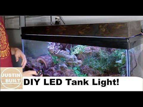 Cheap $20 DIY LED Aquarium / Tank Light