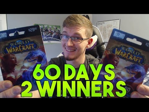 60-Day WoW Game-Time Give Away! 2 WINNERS!