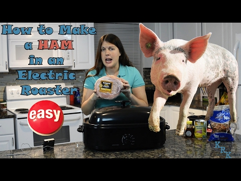 How to Make a Ham in an Electric Roaster  I Episode 10