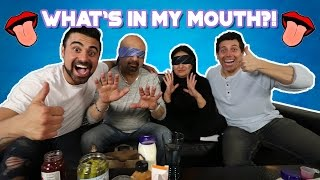 """WHATS IN MY MOUTH CHALLENGE!!"""" (W/ parents)"""