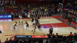 Leron Black Alley Oop vs. Augustana