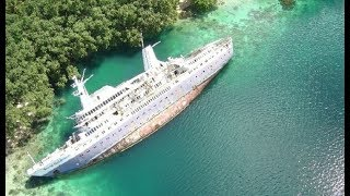 10 Most Mysterious Abandoned Ships