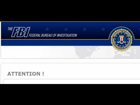 How to Remove the FBI Virus and Other Non Destructive Malware