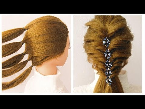 Coiffure Facile à Faire Soi Même Pour Cheveux Mi Long