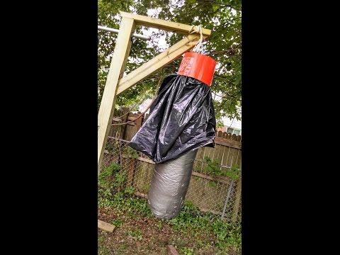 waterproof heavy bag mount- under $10.