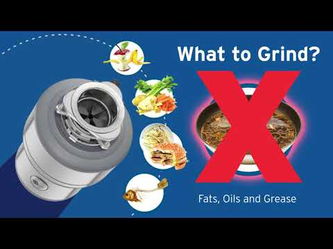 How to use an InSinkErator Garbage Disposal