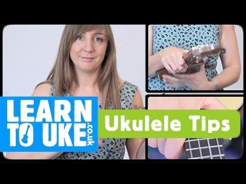 How to hold your ukulele - Absolute Beginners Ukulele Tutorial