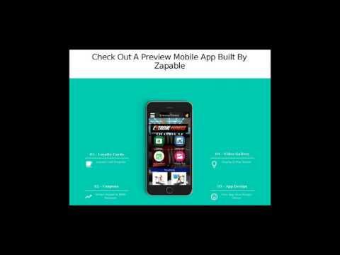 Create Mobiles App - Best App Maker Software 2017    Create Mobiles App